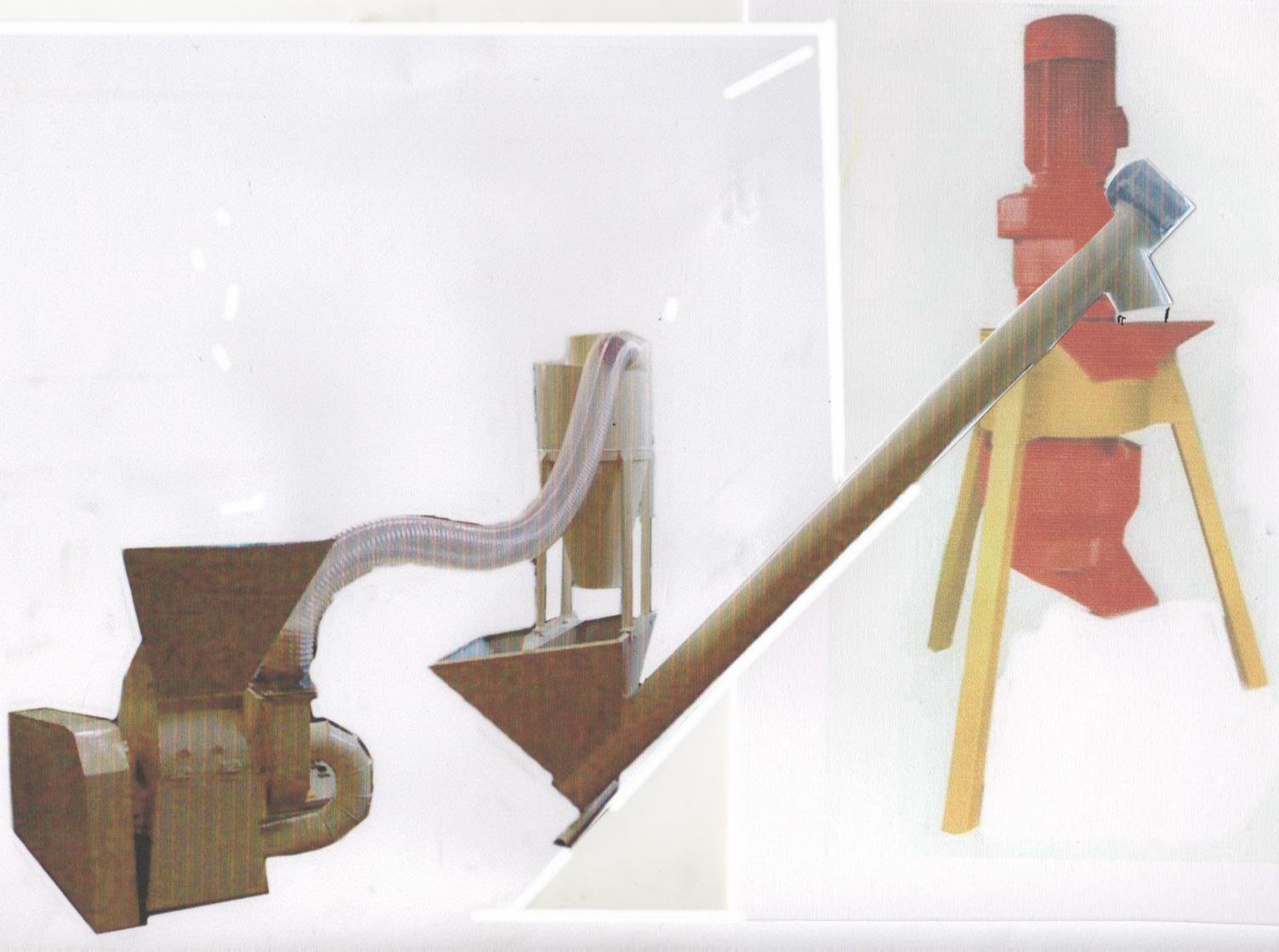 Линия гранулирования древесных опилок (200-300/ 300-400 кг/час) / Италия  (Bracco)